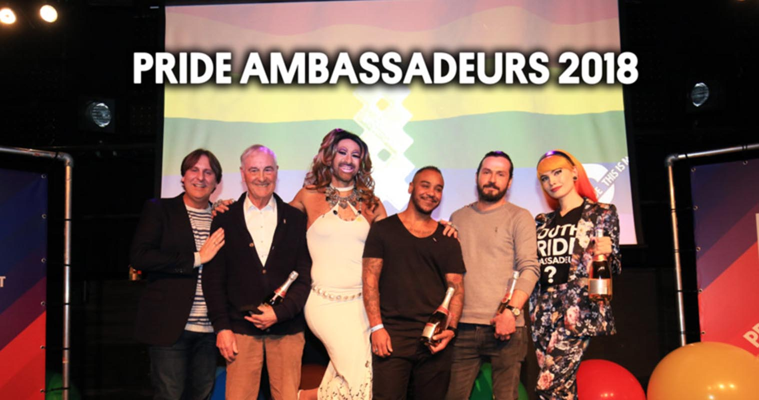 Pride Amsterdam Ambassadeurs