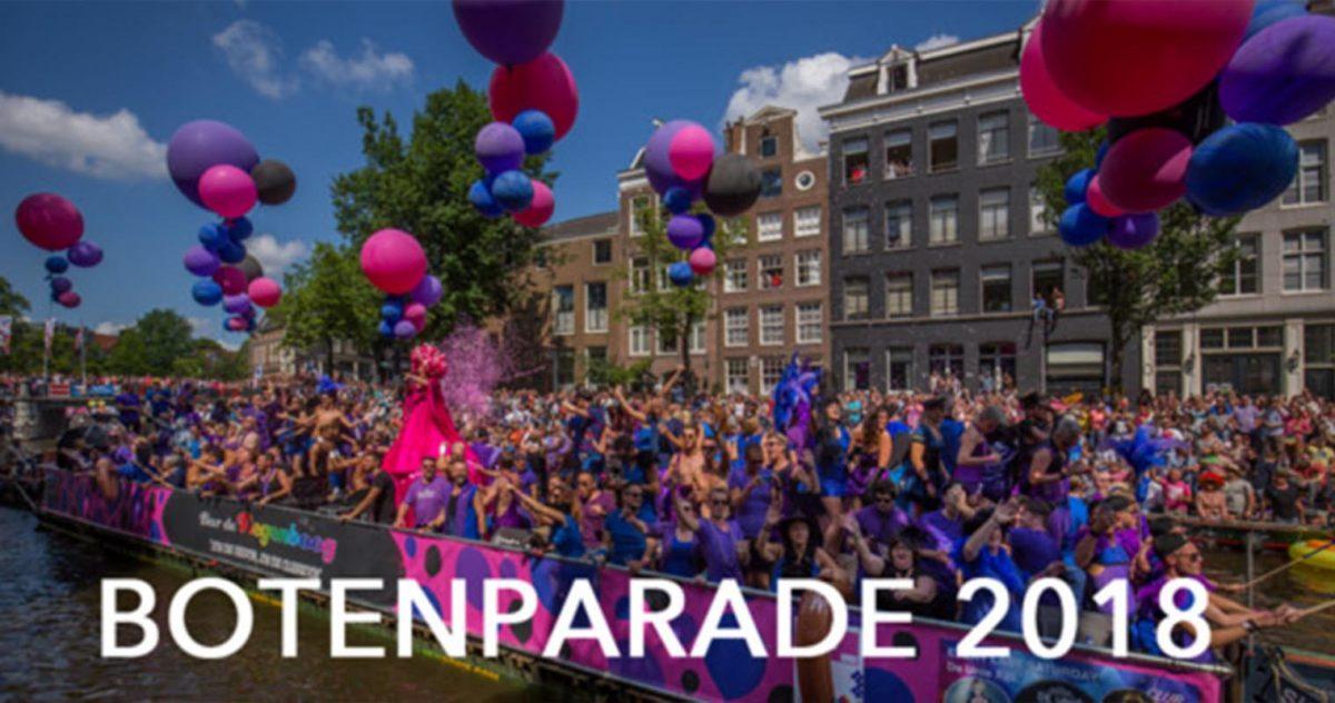Pride Amsterdam - Botenparade 2018