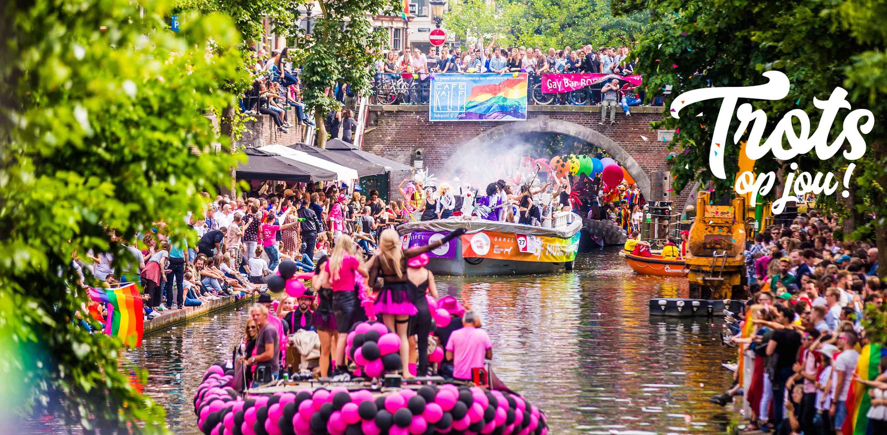 Afbeeldingsresultaat voor utrecht canal pride