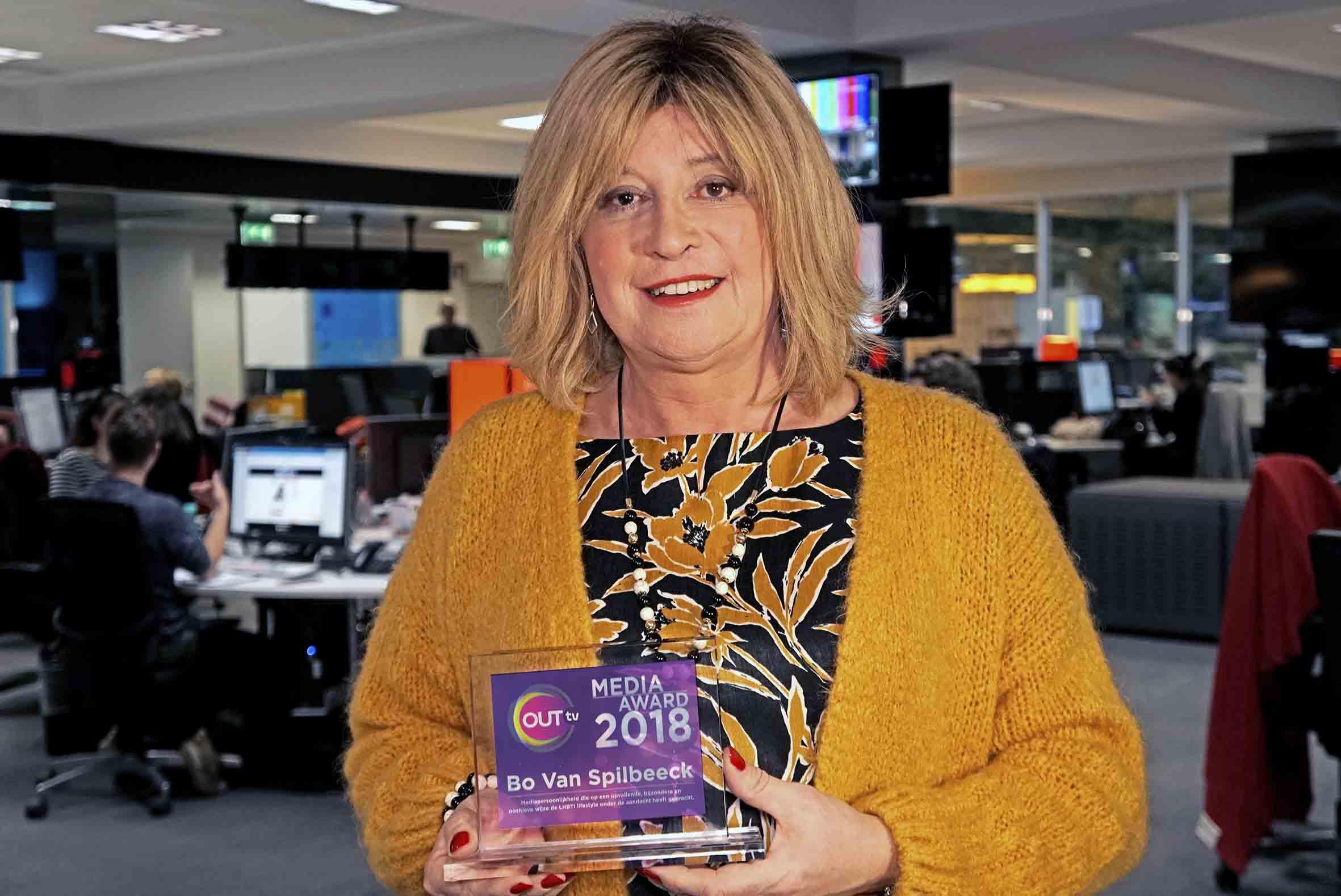 Bo Van Spilbeeck Wint Outtv Media Award 2018