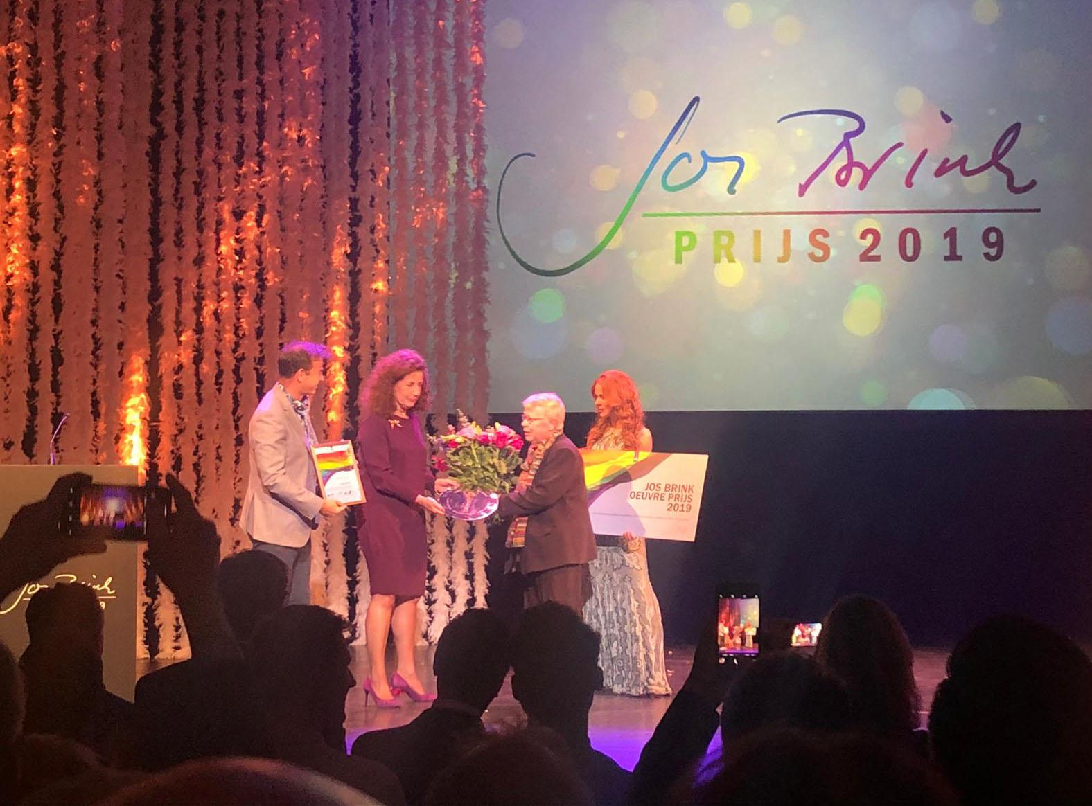 Winnaar Jos Brink Prijs Joke Swiebel Vijftig Jaar Tomeloze